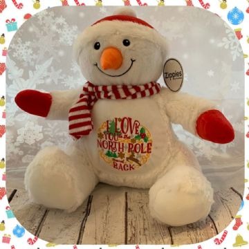 Love you to the North Pole Snowman